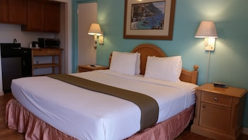 Suite, 1 King Bed, Kitchen