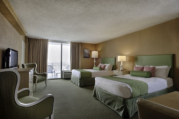 Deluxe Room, 2 Double Beds, Coast Line View
