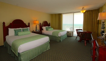 Superior Room, 2 Double Beds, Ocean View