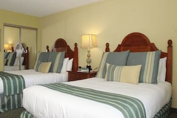 Deluxe Room, 2 Double Beds, City View