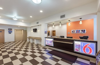 Lobby at Motel 6 Fort Worth, TX in Fort Worth