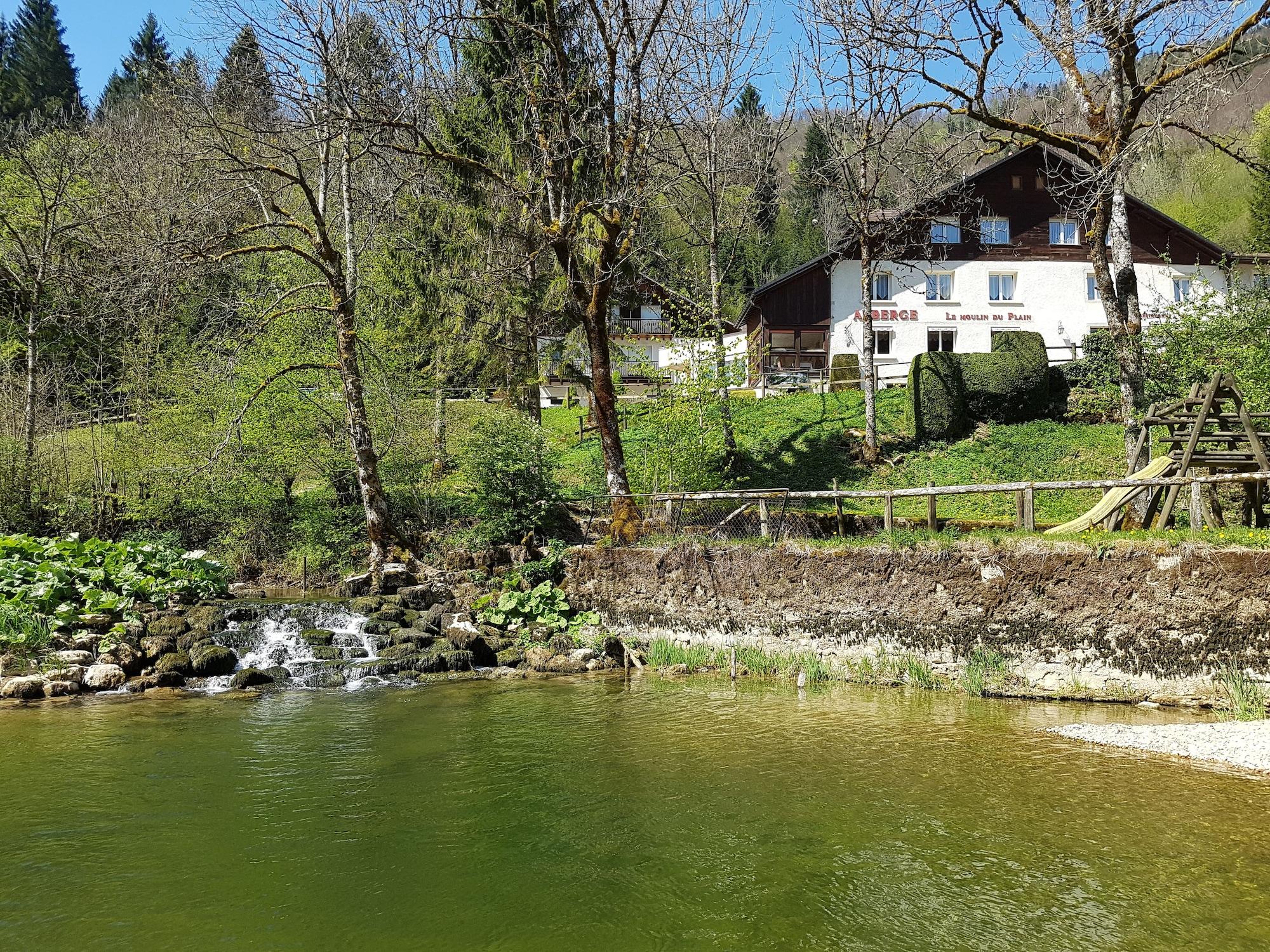 Hôtel Restaurant le Moulin du Plain, Doubs