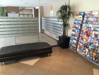 Lobby Sitting Area at Fiori Apartments in Parramatta