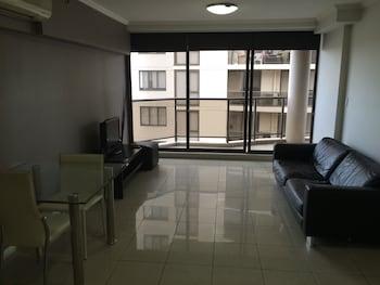 Guestroom at Fiori Apartments in Parramatta