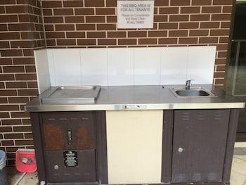 BBQ/Picnic Area at Fiori Apartments in Parramatta