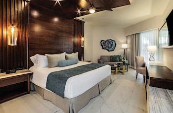 Junior Suite Partial Ocean View King Bed