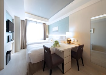 スタンダード ツインルーム シングルベッド 2 台|19㎡|ホテルリバージュアケボノ