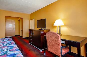 Guestroom at Rodeway Inn Meadowlands in Secaucus