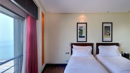 Luxury Room, 2 Single Size, Beds Sea View