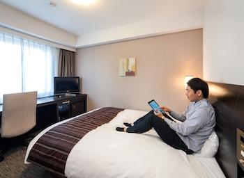 ダブルルーム 喫煙可 (シングルユース)|ダイワロイネットホテル大分