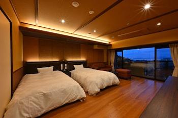 洋室ツインルーム|びわ湖花街道