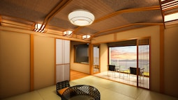 Japanese-western Style Room With Open-air Hot Spring Bath