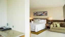 Deluxe Süit, 1 Yatak Odası, Balkon, Deniz Manzaralı