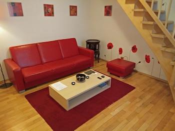 Duplex, 1 Bedroom, Garden Area