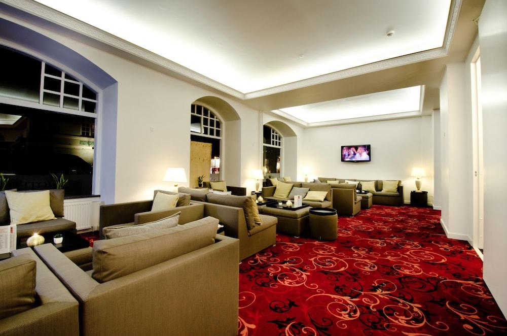 밀링 호텔 삭시드후스 콜딩(Milling Hotel Saxildhus, Kolding) Hotel Image 1 - Lobby Sitting Area