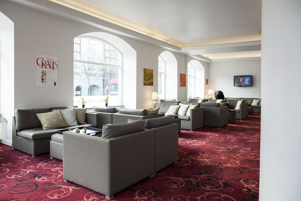 밀링 호텔 삭시드후스 콜딩(Milling Hotel Saxildhus, Kolding) Hotel Image 46 - Hotel Lounge
