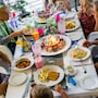 The thumbnail of Family Dining large image