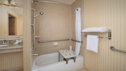 Room, 1 King Bed, Accessible (mobility & Hearing, Roll-ın Shower)