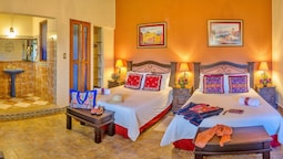 Deluxe Double Room, Mountain View, Courtyard Area