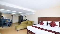 Deluxe Apartment, 1 King Bed, City View