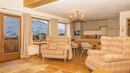 Luxury Apart Daire, 2 Yatak Odası, Mutfak, Dağ Manzaralı (nr.9)