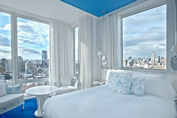 Guestroom at NoMo SoHo in New York
