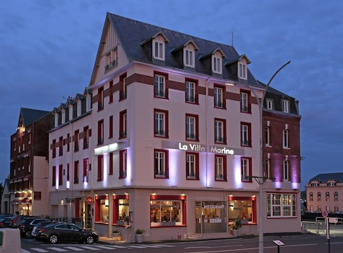 . The Originals Boutique, Hôtel La Villa Marine, Le Tréport