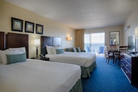 Standard Room, 2 Queen Beds, Oceanfront at Atlantic OceanFront Inn in Ocean City