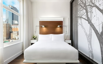 Guestroom at The James New York- SoHo in New York