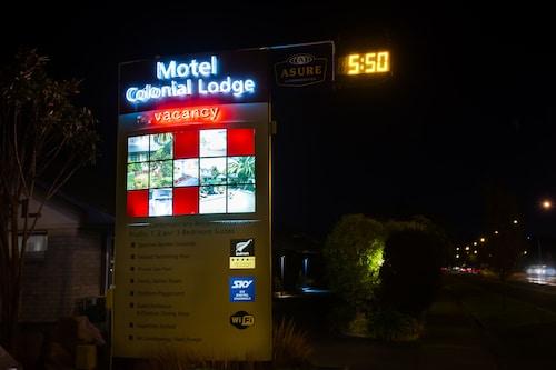 Asure Colonial Lodge Motel, Hastings