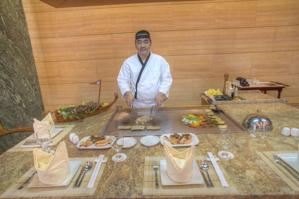 시지 호텔 아파트먼트(Siji Hotel Apartment) Hotel Image 20 - Restaurant