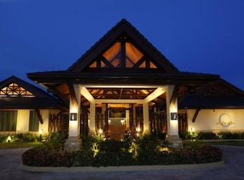 Crimson Resort and Spa Mactan Hotel Front - Evening/Night