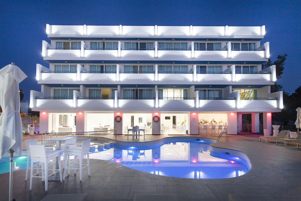 호텔 아파르타멘토 마리나 플라야 - 어른 전용(Hotel Apartamentos Marina Playa - Adults Only) Hotel Image 46 - Hotel Front