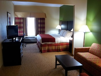 Suite, 1 King Bed, Accessible (Mobil Tub)
