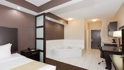Suite, One Room With 1 King Bed, Jacuzzi Tub, Non Smoking
