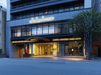 MITSUI GARDEN HOTEL KYOTO SHIJO Front of Property - Evening/Night