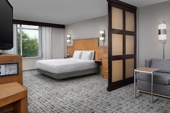 Room, 1 King Bed, Accessible, Lake View