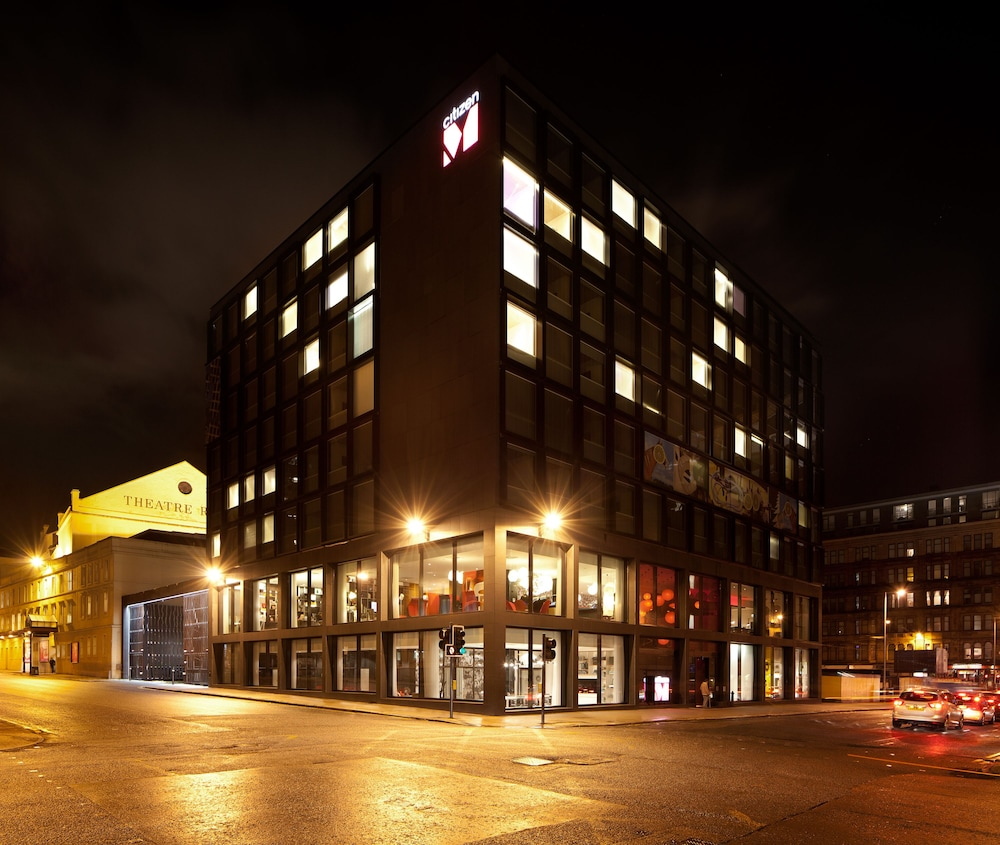 시티즌엠 호텔 글래스고(citizenM Hotel Glasgow) Hotel Image 32 - Hotel Front - Evening/Night