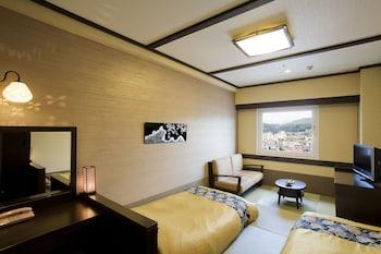 ツインルーム 禁煙|21㎡|飛騨 花里の湯 高山桜庵