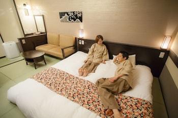 デラックス ダブルルーム 禁煙|21㎡|飛騨 花里の湯 高山桜庵