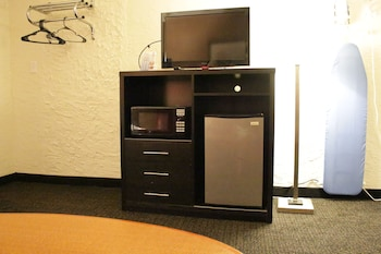 Standard Room, 2 Double Beds, Refrigerator & Microwave