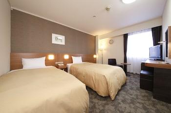 ツインルーム 禁煙|ホテル尾花 (旧ホテルサンルート奈良)