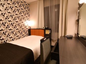 リニューアル シングルルーム 禁煙 12㎡ アパホテル〈金沢片町〉 (全室禁煙、リニューアルオープン)