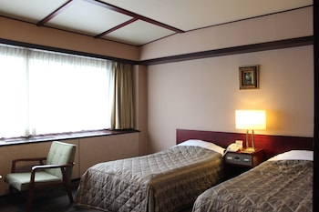 [山水閣] ツインルーム(こちらのお部屋タイプは山側のみの提供です)|下呂温泉 水明館