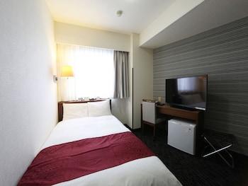 セミダブルルーム 120 cm ベッド 15 ㎡ (禁煙)|アパホテル〈郡山駅前〉