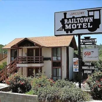 詹姆士城鐵路邊旅館 Jamestown Railtown Motel