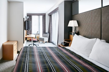 Guestroom at The Jewel facing Rockefeller Center in New York