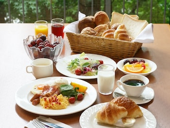 HYOE KOYOKAKU Breakfast buffet