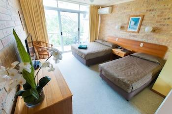 Guestroom at Bombora Resort in Coolangatta