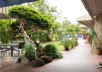 Courtyard View at Bombora Resort in Coolangatta